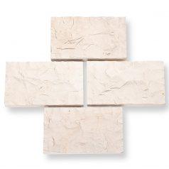 Mauerverblender bossiert Bossen Kalk-Marmorstein