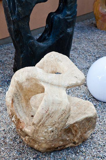 Ozeanfindling Skulpturstein Kalk-Marmorstein