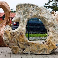 Ozeanfindling Skulpturstein Kalkstein-Konglomerat