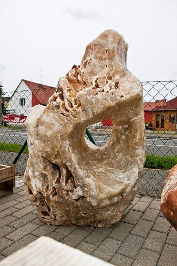 Ozeanfindling aus Onyx Halbedelstein