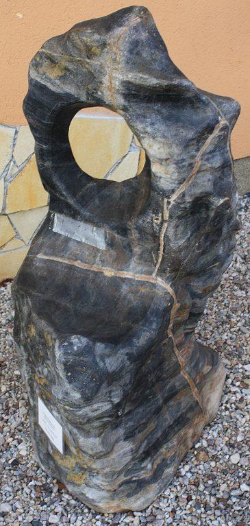Ozeanfindling Skulpturstein Marmor-Kalkstein