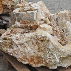 Kalkstein Findling für den Garten