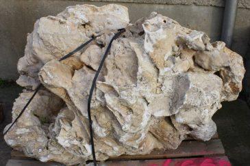 Kalkstein Findling