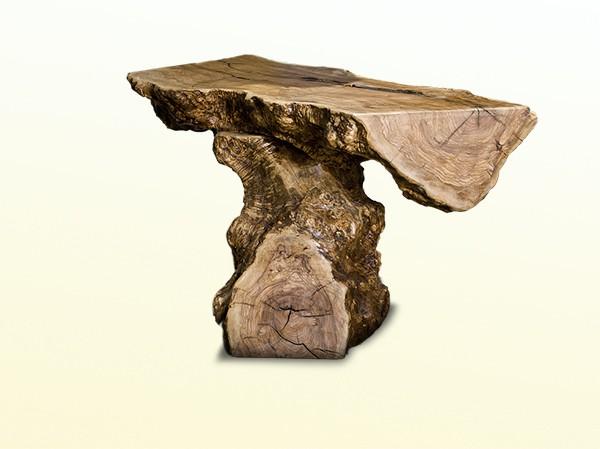tisch aus olivenholz naturstein centrum lpm. Black Bedroom Furniture Sets. Home Design Ideas