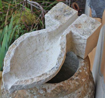 Wasserspeier aus Naturstein Handarbeit Wasserspiel