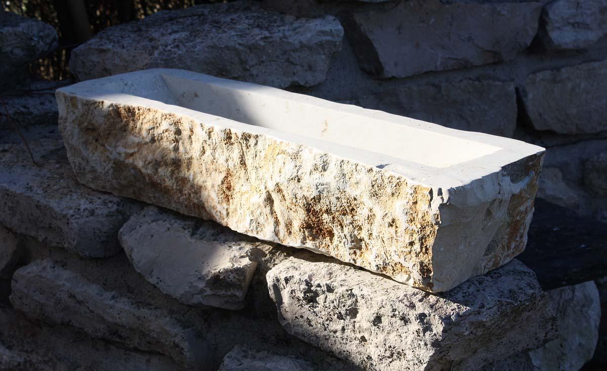 blumenkasten pflanzschale balkonkasten aus naturstein db 04 0b 01 naturstein centrum lpm. Black Bedroom Furniture Sets. Home Design Ideas