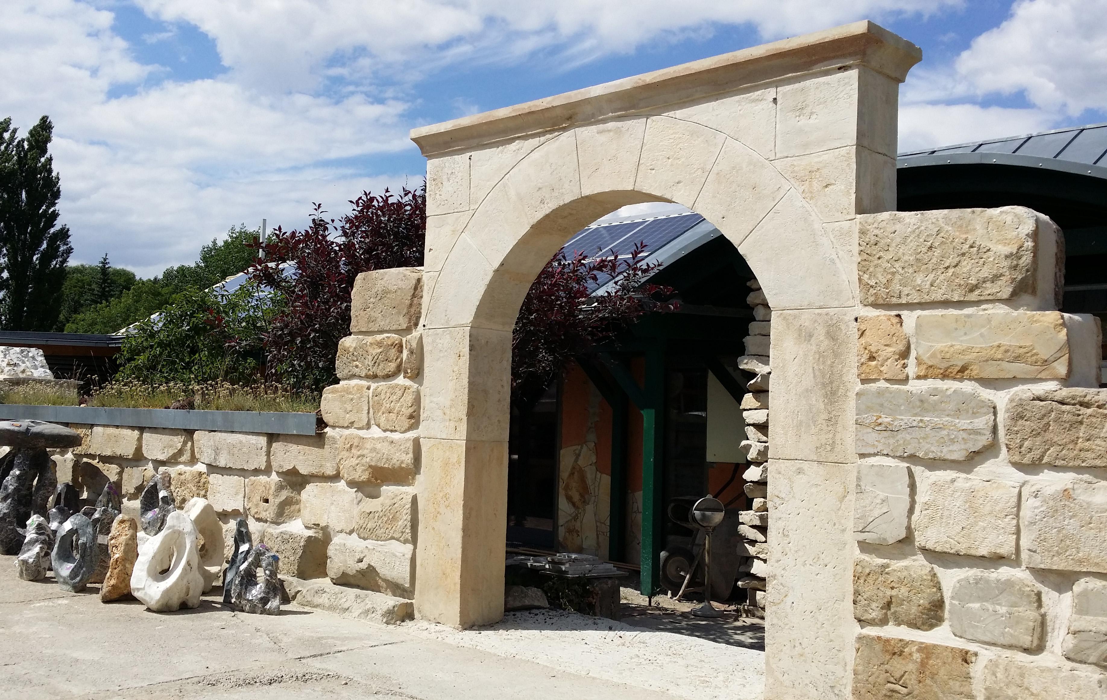 Sandsteinblocke Mauersteine Allseits Gebrochen 30 30 60 Naturstein