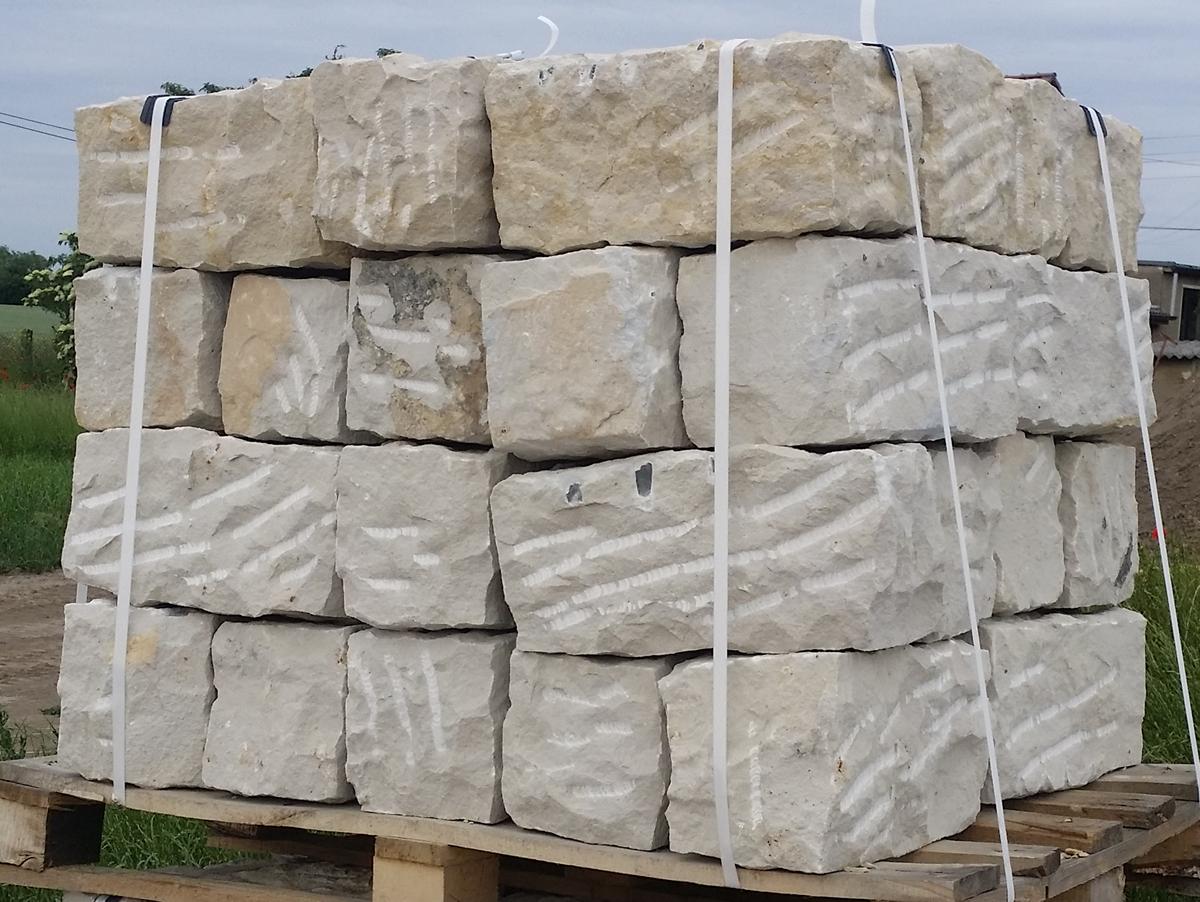 Sandsteinblocke Mauersteine Allseits Gebrochen 20 20 40 Naturstein