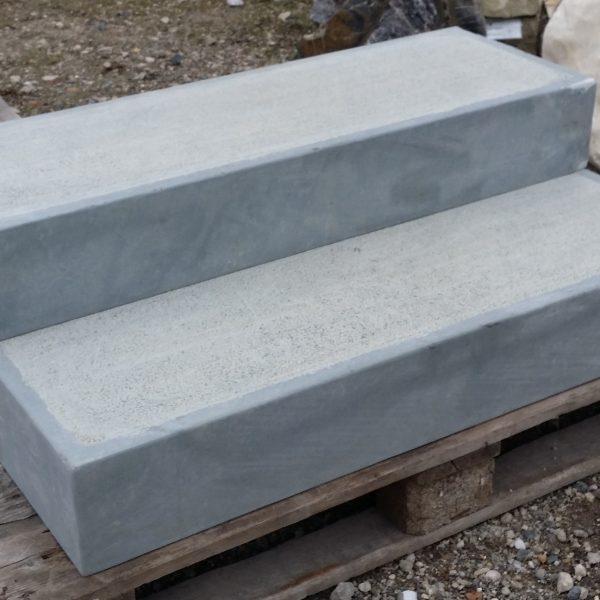 blockstufe treppenstufe 100 x 35 x 15cm sandstein. Black Bedroom Furniture Sets. Home Design Ideas