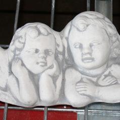 Engelspaar Wand