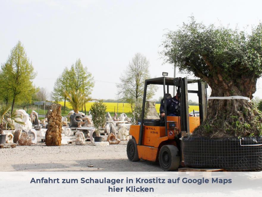 Schaulager Krostitz Anfahrt - Naturstein Centrum LPM