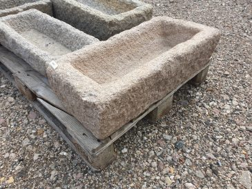 Pflanzschale aus Granit