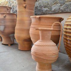 Kreta Keramik Pflanztopf Naturstein Centrum LPM Krostitz Leipzig