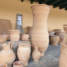 Keramik Amphore zur Gartendekoration bei Naturstein Centrum LPM Krostitz bei Leipzig