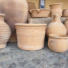 Keramik Pflanztopf zur Gartendekoration bei Naturstein Centrum LPM Krostitz bei Leipzig