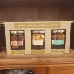 Geschenkbox Honig mit Nüssen