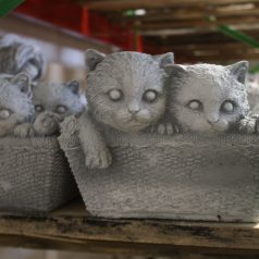 Katzen Pflanzkorb